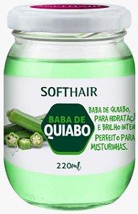 Soft Hair Baba de Quiabo Para Misturinhas Hidratação Brilho