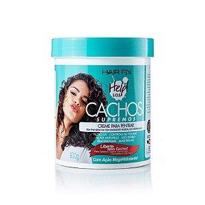 Hair Fly Cachos Supremos Creme Para Pentear Help S.O.S 900g