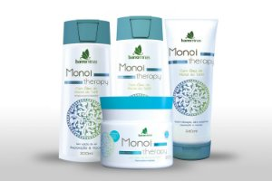 Barrominas Monoi Therapy Kit Para Cabelos Cacheados e Ondulados