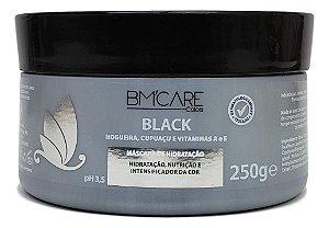 BMcare Black Máscara Hidratação Intensificadora Cor Cabelo Preto