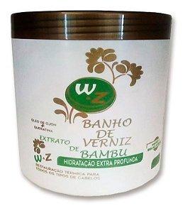 WZ Banho de Verniz Bambu Hidratação Extra Profunda Restauração 1kg