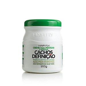 Hair Fly Cachos Definição Creme Para Pentear e Hidratar Aloe Vera