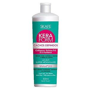 Keraform Shampoo Cachos Definidos Skafe 500mL
