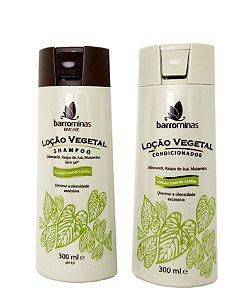 Barrominas Loção Vegetal Shampoo e Condicionador BmCare