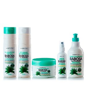 Hair Fly Babosa da Amazônia Hidratante Kit Completo