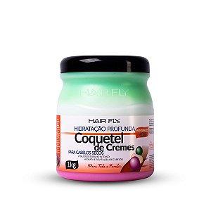 Hair Fly Coquetel de Cremes Hidratação Profunda 1kg