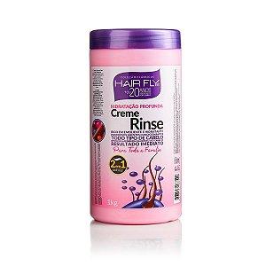 Hair Fly Creme Rinse Hidratação Profunda 1Kg