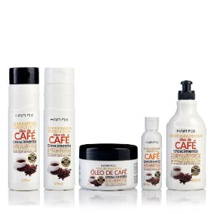 Hair Fly Óleo de Café Energético Kit Estimulador de Crescimento