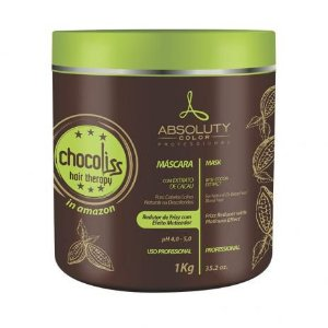 Absoluty Color Chocoliss Hair Therapy Máscara Redutor de Frizz Matizadora 1Kg
