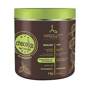 Absoluty Color Chocoliss Hair Therapy Máscara Redutor de Frizz Matizadora 1Kg