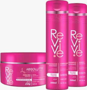 Revive Absoluty Color Kit Hidratante Para Cabelos Desidratados Sem Vida