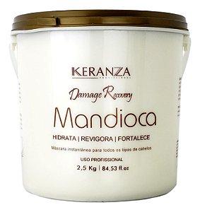 Demage Recovery Máscara Mandioca Keranza Profissional 2,5kg