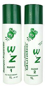Semi Definitiva Quiabo WZ Shampoo e Ativo 1L