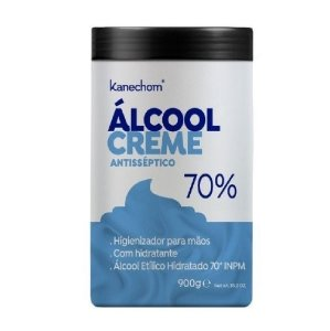 Álcool Creme Antisséptico 70% Kanechom Higienizante Para Mãos 900g