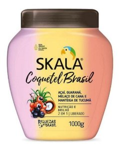 Creme De Tratamento Skala Coquetel Brasil Vegano 1kg