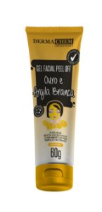 Dermachem Ouro e Argila Branca Gel Facial Peel Off 60g