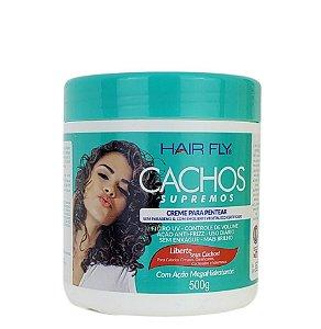 Hair Fly Cachos Supremos Creme Para Pentear Help S.O.S 500g