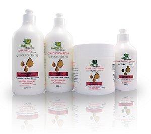Gordura De Rã Hábito Cosméticos Kit Hidratação E Regeneração Capilar