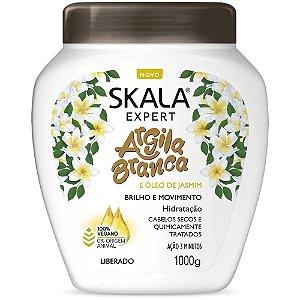 Skala Creme De Tratamento Argila Branca E Óleo De Jasmim Vegano Pós Quimica