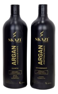 Kit Shampoo E condicionador Argan+Manteiga De Karité Skazi Cosméticos