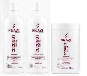 Skazi Cosméticos Coconut+Biotina Kit Completo Fortalecimento E Nutrição