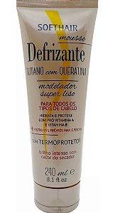 Soft Hair Defrizante Tutano Com Queratina Termoprotetor 240 mL