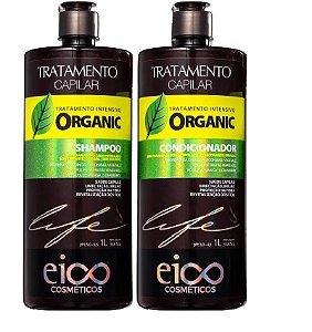Kit Shampoo E Condicionador Organic 1l Eico Cosméticos