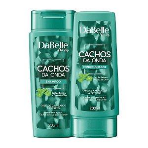 Kit Shampoo + Condicionador Dabelle Hair Cachos  Da  Onda