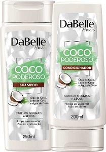 Kit Shampoo E Condicionador Dabelle Hair Coco Poderoso