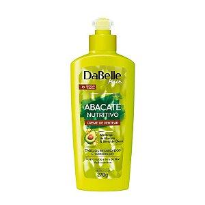 Creme de pentear DaBelle Hair Abacate Nutritivo C/Proteção Térmica 270g