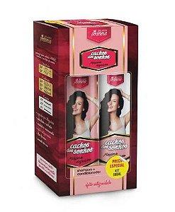 Probelle Kit Shampoo + Condicionador Cachos Dos SonhosMaxima Definição
