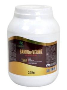 Banho De Verniz Hidratante Profissional Hábito Cosméticos 2,3kg