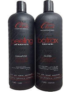 Progressiva Classic Botrax  Shampoo Peeling e Tratamento