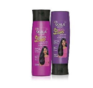 Kit Shampoo E Condicionador Skala Mais Lisos 325 Ml