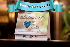 Pague 10 Leve 11 - Calendários CãoViver 2020