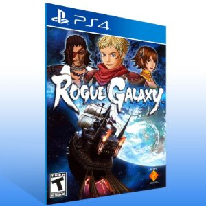 Rogue Galaxy - Ps4 Psn Mídia Digital