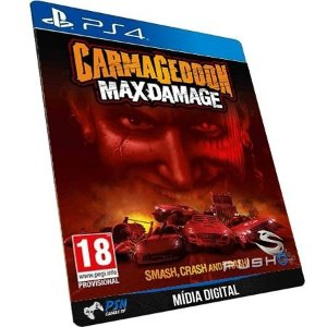 Carmageddon: Max Damage PS4 - Mídia Digital