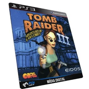 Tomb Raider III PS3 - Mídia Digital