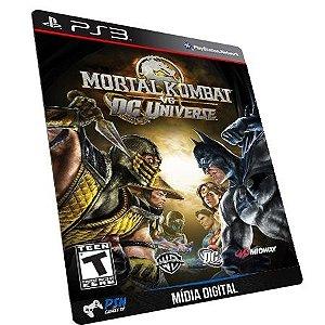 Mortal Kombat vs. DC Universe PS3 - Mídia Digital
