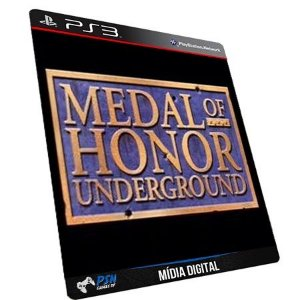 Medal of Honor Underground PS3 - Mídia Digital