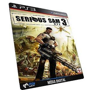 Serious Sam 3 BFE PS3 - Mídia Digital