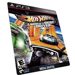Hot Wheels World's Best Driver PS3 - Mídia Digital