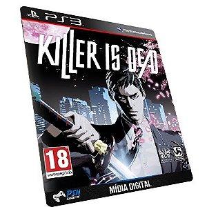 KILLER IS DEAD PS3 - Mídia Digital