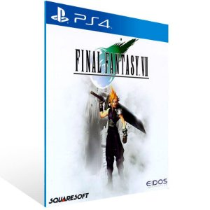 Final Fantasy 7 - Ps4 Psn Mídia Digital