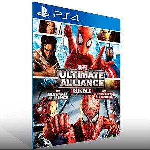 Marvel Ultimate Alliance Bundle - Ps4 Psn Mídia Digital