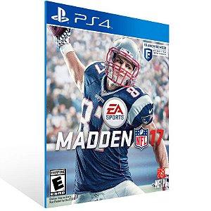 Madden NFL 17 - Ps4 Psn Mídia Digital