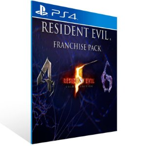Resident Evil Triple Pack - Ps4 Psn Mídia Digital