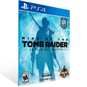 Rise of The Tomb Raider 20 Year Celebration - Ps4 Psn Mídia Digital