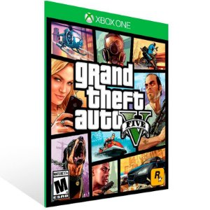 Grand Theft Auto V Gta 5 - Xbox One Live Mídia Digital