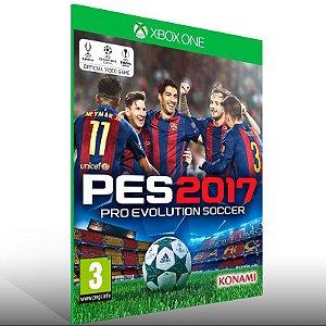 PES 17 - Xbox One Live Mídia Digital